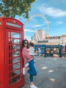 cabina de telefono en Londres